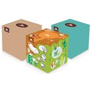 Kosmetické utěrky cube box 60 ks v balení