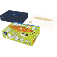 Kosmetické utěrky universal box 1x100