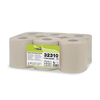 CELTEX papírové utěrky v rolích se středovým odvíjením, 2v., 6 rolí, 135 m