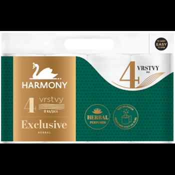 Toaletní papír HARMONY excl. Herbal perf., 8 rolí
