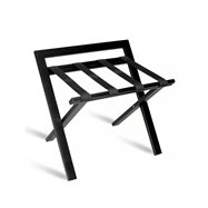 Kufrbox WOOD PLUS s opěrkou, černý, 60x46,5x57,5 cm