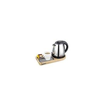 Rychlovarný set CORBY Compact, světlé dřevo, 1,0 l