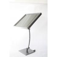 LED informační tabule Securit (6 x A4) - lakovaná ocel