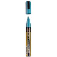 Popisovač Securit s tekutou křídou 2 - 6 mm - modrá