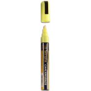 Popisovač Securit s tekutou křídou 2 - 6 mm - žlutá