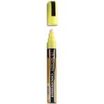 Popisovač s tekutou křídou 2 - 6 mm, žlutá