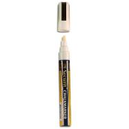 Popisovač Securit s tekutou křídou 2 - 6 mm - bílá