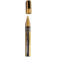 Popisovač Securit s tekutou křídou 2 - 6 mm - zlatá