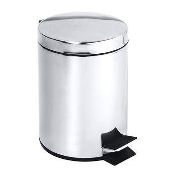Odpadkový koš 12L, nerez lesk