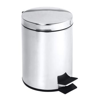 Odpadkový koš 30L, nerez lesk,