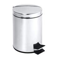 Odpadkový koš 40L, nerez lesk