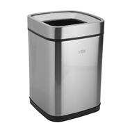 Odpadkový koš bez víka 9L, nerez mat