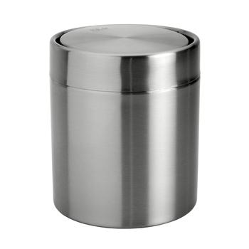 Odpadkový koš s víkem stolní 1,5L, nerez brus