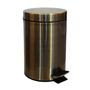 RETRO bronz: Odpadkový koš 3L