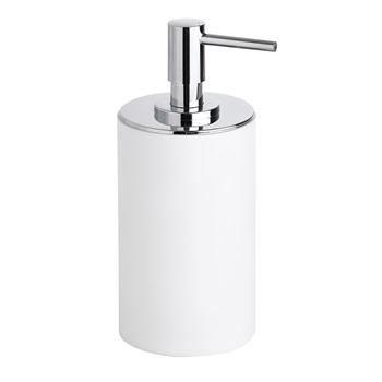 GAMMA: dávkovač tekutého mýdla na postavení, bílý