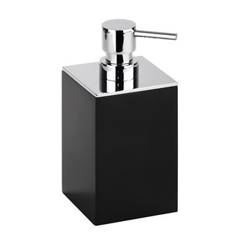 GAMMA: dávkovač tekutého mýdla na postavení, černý