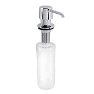 Integrovaný dávkovač tekutého mýdla a saponátu 300ml, nerez lesk