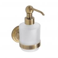 RETRO bronz: Dávkovač tekutého mýdla 200ml, sklo MINI