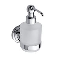 RETRO chrom: Dávkovač tekutého mýdla 200ml, sklo MINI