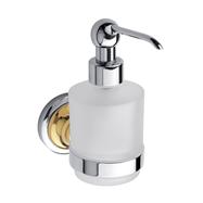 RETRO zlato-chrom: Dávkovač tekutého mýdla 200ml, sklo MINI