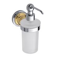 RETRO zlato-chrom: Dávkovač tekutého mýdla 230ml
