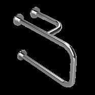 HELP: Kombinovaný úchyt k umyvadlu, levý, nerez
