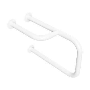HELP: Kombinovaný úchyt k umyvadlu, pravý, bílý