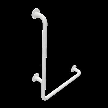 HELP: Nástěnné opěrné držadlo, levé, bílé