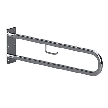HELP: Podpěrné madlo ve tvaru U 850 mm, nerez, s držákem TP