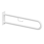HELP: Podpěrné madlo ve tvaru U 900 mm, bílé, s držákem TP