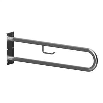 HELP: Podpěrné madlo ve tvaru U 900 mm, nerez brus, s držákem TP