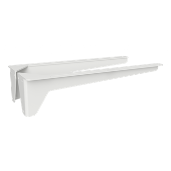 Konzole umyvadlová 400 mm, bílá, zátěž 50 kg, pár