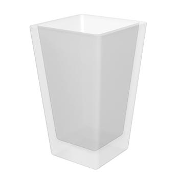 Miska sklo pro WC štětku 118113012 PLAZA