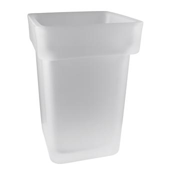 VIA: Skleněná miska pro WC štětku 135013012