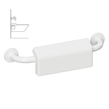HELP: Madlo 500 mm, bílé s krytkou a gumičkou
