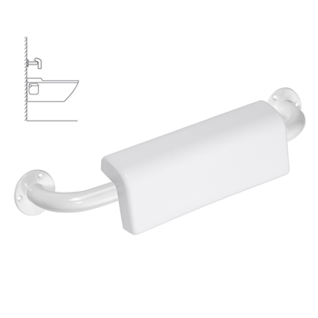 HELP: Madlo 500 mm, bílé se zád.opěrkou
