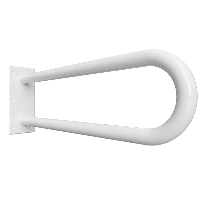 HELP: Podpěrné madlo ve tvaru U 600 mm, bílé