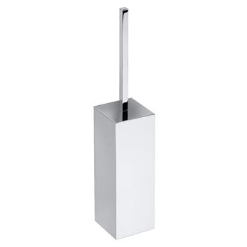 PLAZA: WC štětka na postavení/zavěšení, chrom