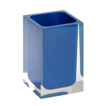 VISTA: Držák kartáčků na postavení, modrý