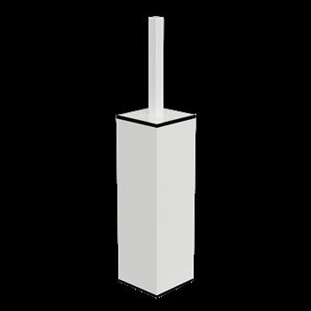 WHITE: WC štětka na postavení/zavěšení
