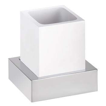 GAMMA: držák kartáčků na zeď, bílý