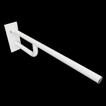 HELP: Sklopný úchyt bílý 760mm, s krytkou