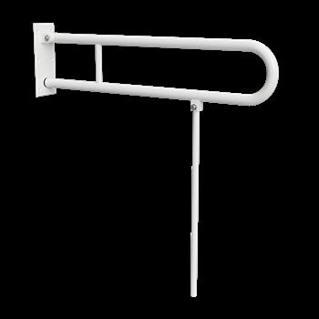 HELP: Sklopný úchyt ve tvaru U 850 mm, bílý