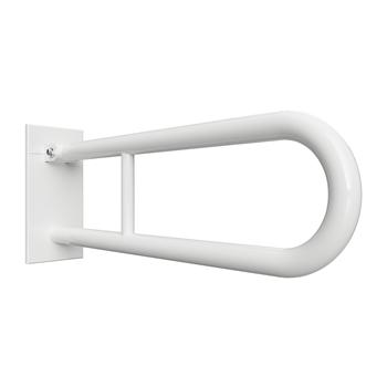 HELP: Sklopný úchyt ve tvaru U 900 mm, bílé, s krytkou