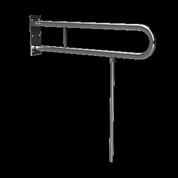 HELP: Sklopný úchyt ve tvaru U s opěrnou nohou 813 mm, nerez