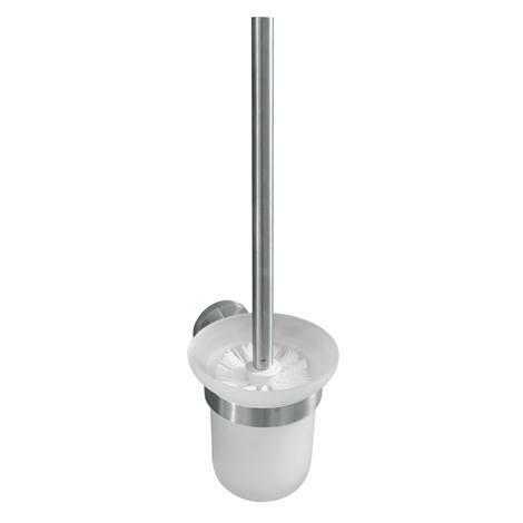 NEO: WC štětka miska sklo, bílý kartáč