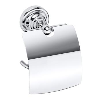 RETRO chrom: Držák toaletního papíru s krytem