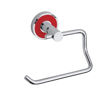 TREND-I: Držák toaletního papíru bez krytu, červená