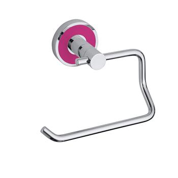 TREND-I: Držák toaletního papíru bez krytu, růžová