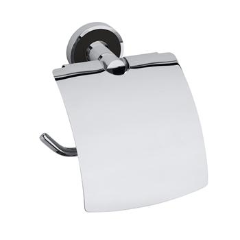 TREND-I: Držák toaletního papíru s krytem, černá